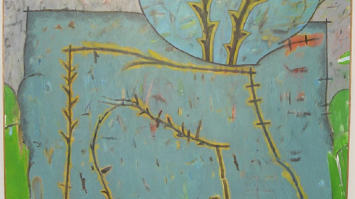 Dilg art at Carver Hawkeye Arena
