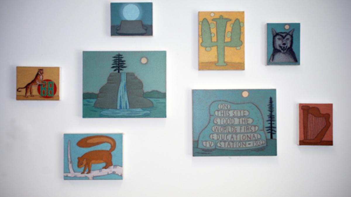 Dilg art in Stuit Hall