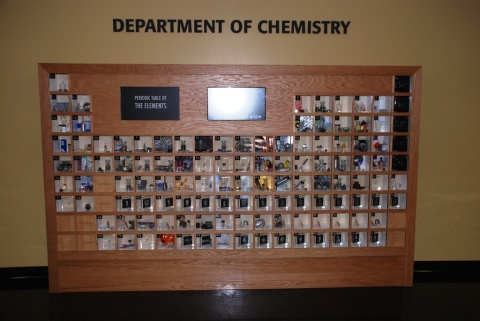 Whitby art at Chemistry Building