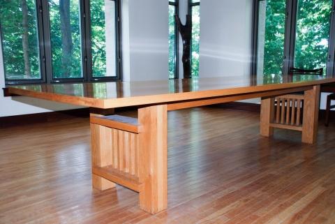 Naso rectangular table at Dey House