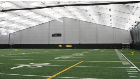 Hawkeye Tennis and Recreation Complex - Indoor Turf Addition