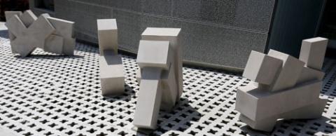 Metz art at Visual Arts Building