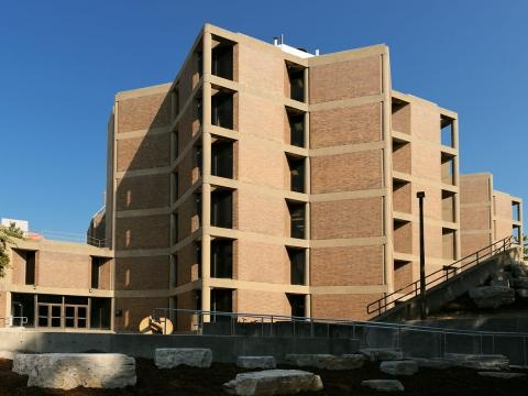 Bowen Science Building Side View
