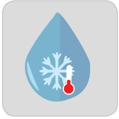 chilled water icon