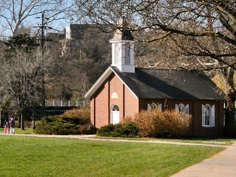 Danforth Chapel Side View