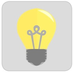 electric lighting icon