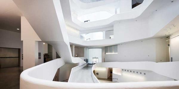 Visual Arts Building interior