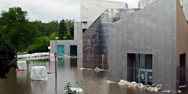 Advanced Technologies Laboratory in 2008 flood