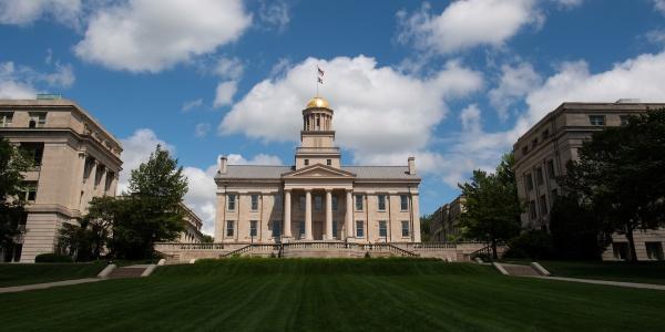 Old Capitol and Pentacrest lawn