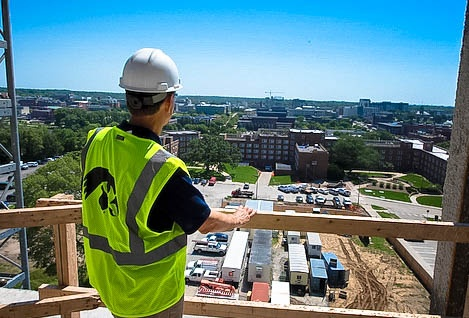 Views from new pharmacy building