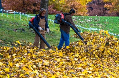 Landscape Services crew