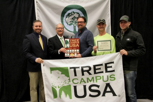 Tree Campus USA 2018 award